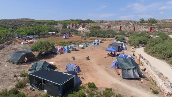 The ban on the Santa Marija camping site has been lifted as rehabilitation works near their completion