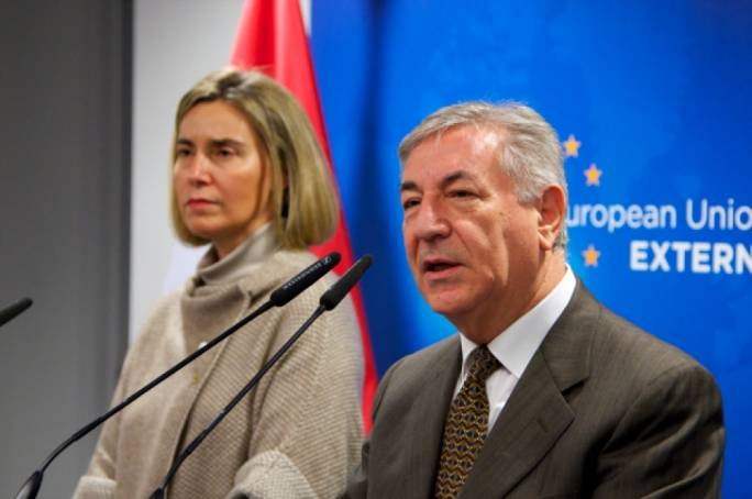 Federica Mogherini, the EU's 'foreign minister', is more likely to need air taxis than environment commissioner Karmenu Vella