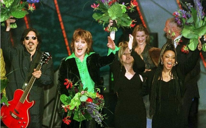 Katrina and the Waves won the Eurovision for the UK in 1997