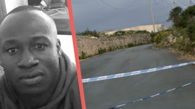 Lassane Cisse Souleyman, 42, was murdered in cold blood near Birzebbugia