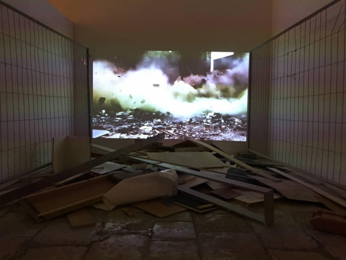 'Last Dream', video installation by Sonia Guggisberg