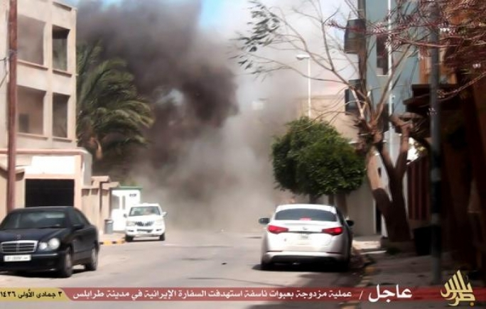 IS militants claim responsibility for Libya embassy bombings, rocket attack