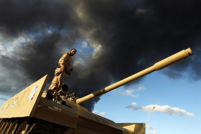 The Libyan military has been battling Islamist militias, which have seized control of several cities
