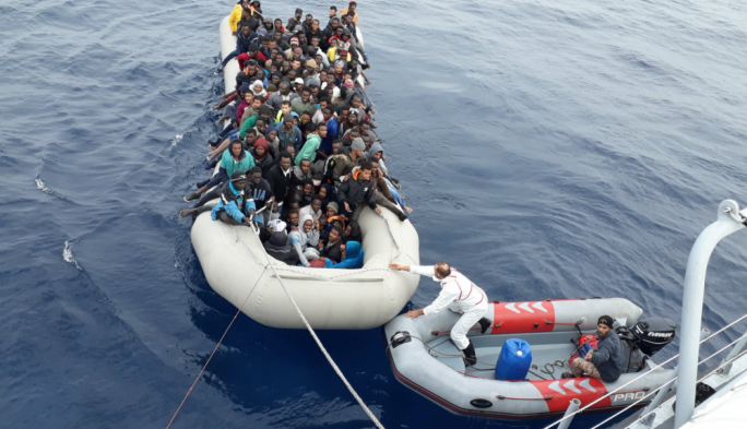 The Libyan coastguard has been involved in migrant rescues, although the UN still considers Libya to be an unsafe port because of ongoing violence