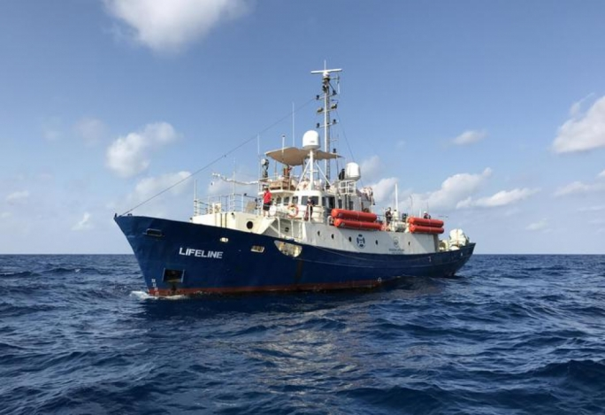 An ad hoc agreement between eight European countries ensured migrants rescued by the Lifeline were distributed among them