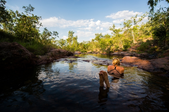 . The energy found at these sites is something very unique and there is no fresher water other fresh water source in the northern territory