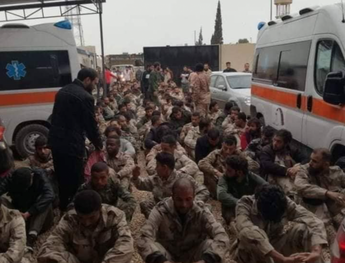 More than 120 fighters loyal to Haftar were captured after an attack on a crucial checkpoint west of Tripoli was repulsed by forces allied with the Government of National Accord (Photo: The Libya Observer)
