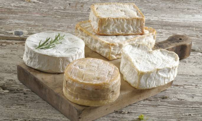 Normandy is home to camembert and some of France's best known soft cheeses