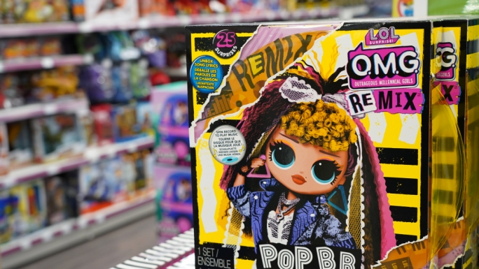 LOL continues to dominate the toy market, and the companies new OMG Dolls are a big ticket item this year