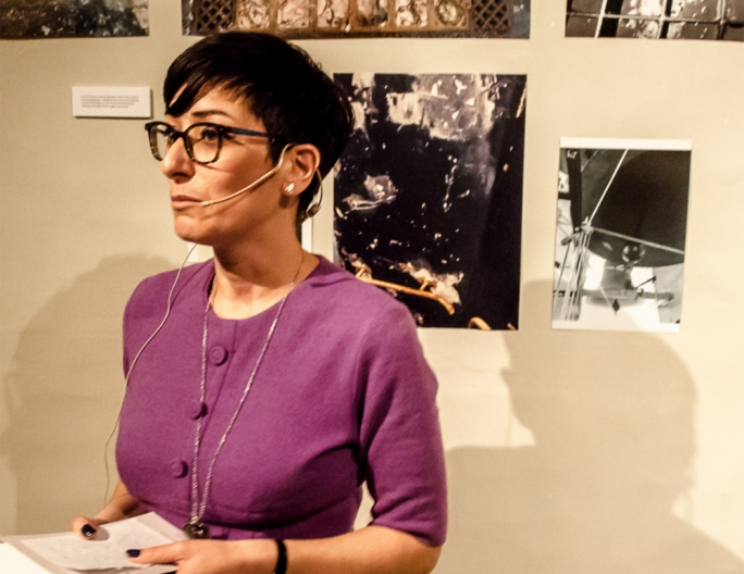 Loranne Vella during the launch of Rokit at Blitz, Valletta (Photo: Aldo Cauchi Savona)