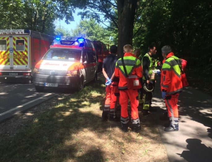 14 people were injured in Lubeck, Germany