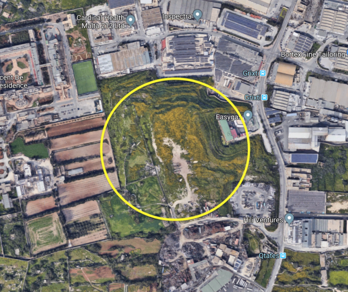 The disused waste dump in Luqa will be rehabilitated
