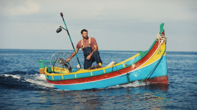 Fisherman turned actor Jesmark Scicluna was the lead actor in the Maltese film Luzzu