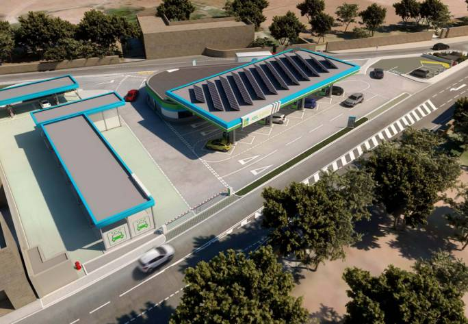 Abel Energy Limited is proposing the construction of a 3,500 sq.m fuel station and retail outlet