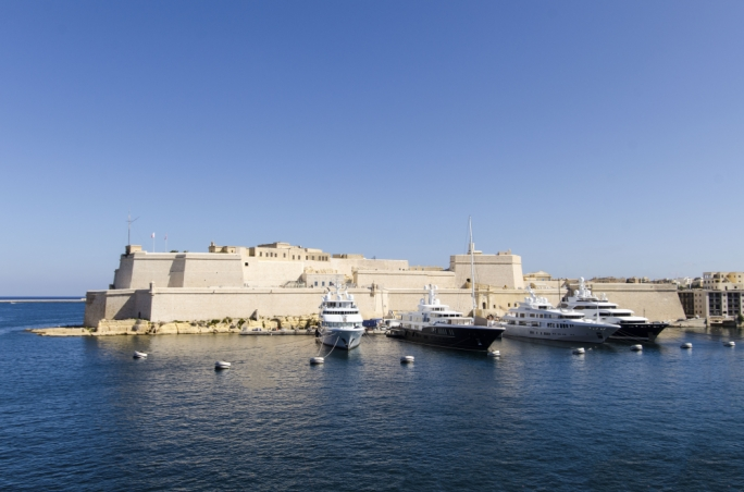 Fort St Angelo was one of the top-rated attractions in Malta