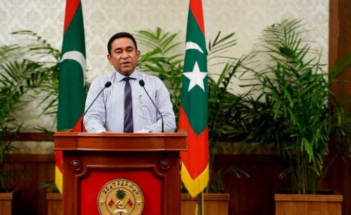 Maldives President Abdulla Yameen declared a state of emergency