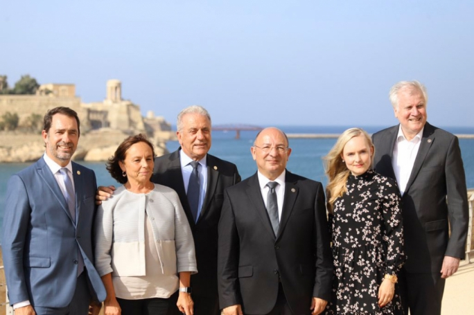 High representatives from Malta, Italy, France, and Germany met in Malta to discuss the EU's migration policy