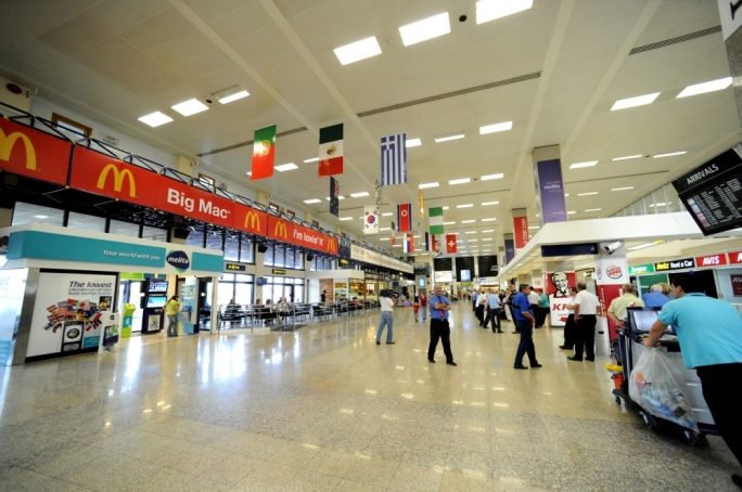 Over half a million airport passengers in July