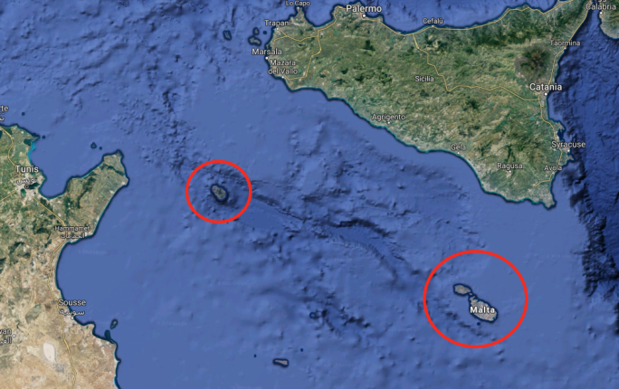 Malta and Pantelleria: not too distant neighbours