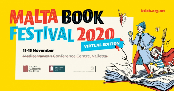 The Malta Book Festival 2020 opens next week, here's all you need to know