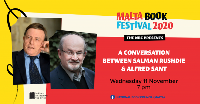 Unmissable events at virtual Malta Book Festival 2020