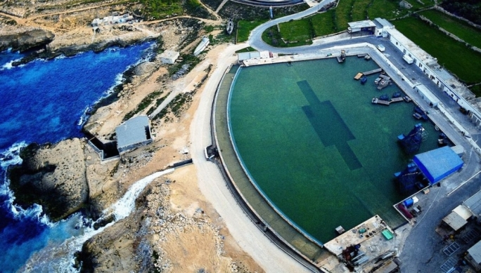 Malta's film water tanks are operated by Meditarranean Film Studios