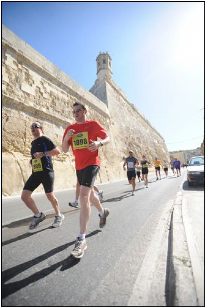 Final preparations for the 30th Vodafone Malta Marathon 2015