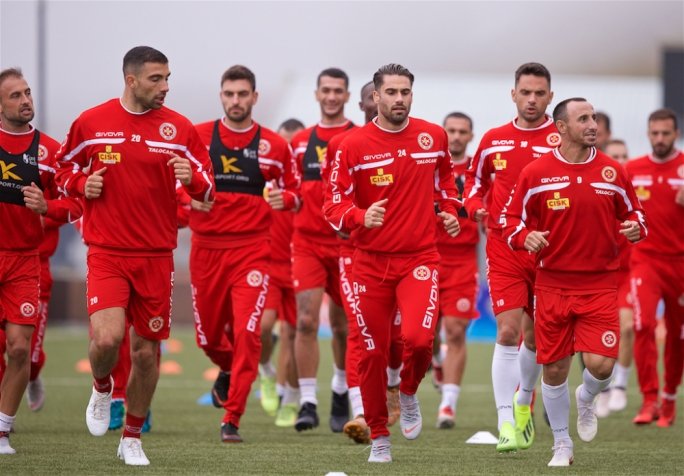 Malta open their UEFA Nations League campaign with a difficult away match against the Faroe Islands. Photo: Paul Zammit Cutajar/MFA