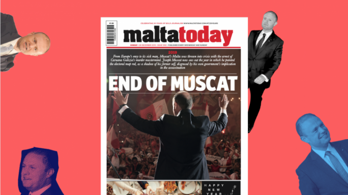 Special 'looking back' edition of MaltaToday: Muscat's fall from grace