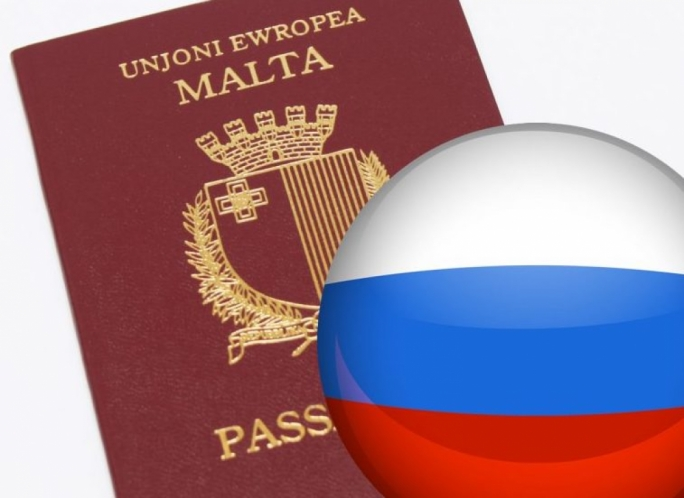 Russian nationals topped the list of Malta's new citizens