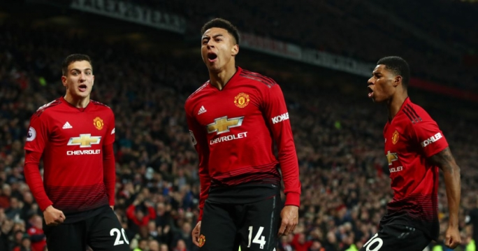 Manchester United register their biggest win of the season
