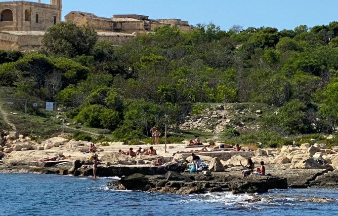 Swimming at Manoel Island has proved to be popular after access to the foreshore was guaranteed two years ago