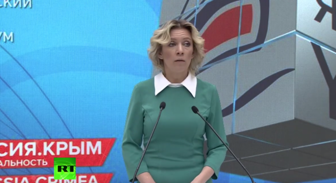 The Russian Foreign Ministry's spokesperson Maria Zakharova said during her weekly briefing that Malta's solution was not friendly