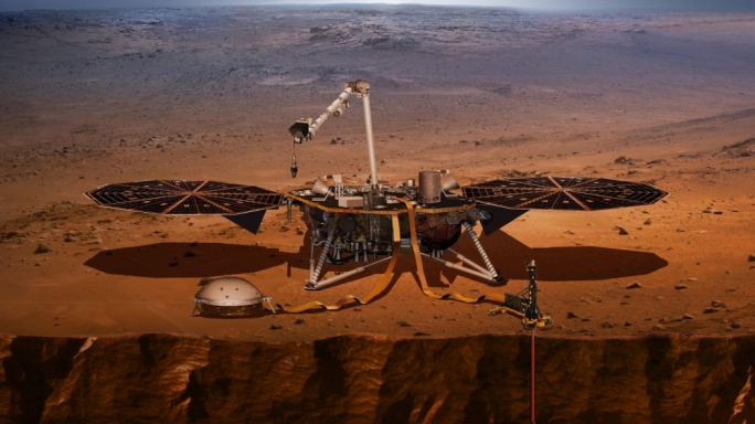 Nasa's Mars mission on target for landing