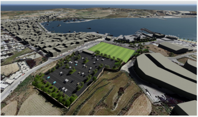 Marsaxlokk 274-space car park recommended for approval