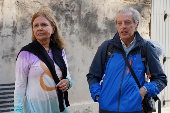 Marthese Bonello and Joseph Mercieca back in Malta (Photo: James Bianchi/MediaToday)