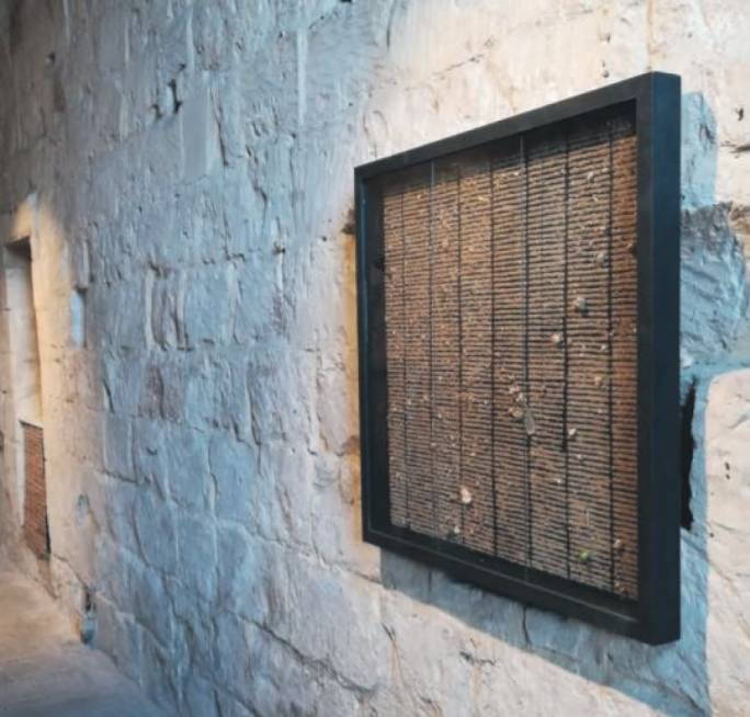 In Between Obliterations is on display at The Mill – Art, Culture and Crafts Centre, Birkirkara