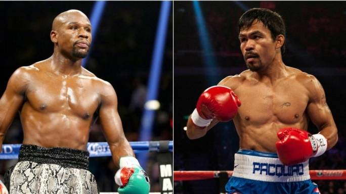Floyd Mayweather and Manny Pacquiao agree fight of the century