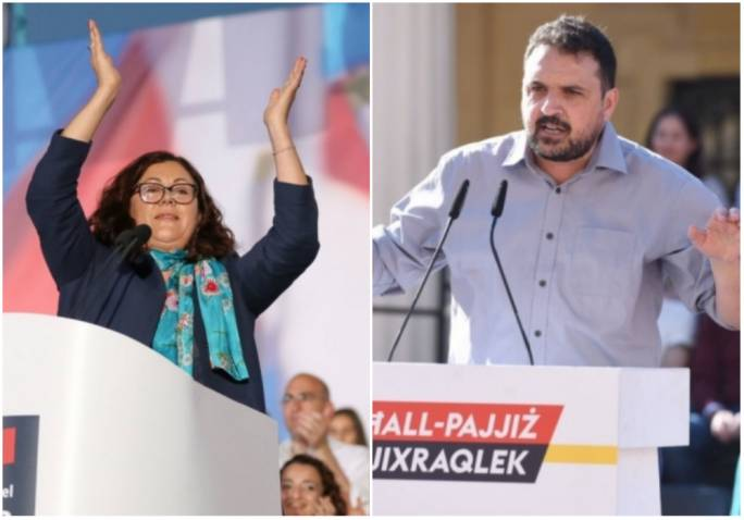 Marlene Farrugia and Michael Briguglio were both proponents of the 'Forza Nazzjonali' camp during the July snap election