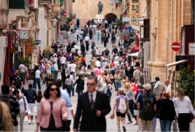 Libyans top list of non-EU nationals in Malta