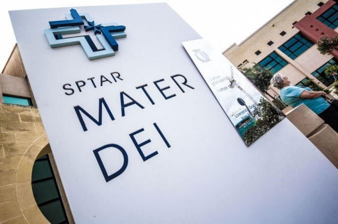 A number of wards at Mater Dei hospital have been closed to new admissions after number of patients developed sudden onset gastritis