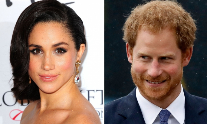 The prince said 'a line has been crossed' in reporting of his relationship with the 35-year-old American actor PHOTO: PA
