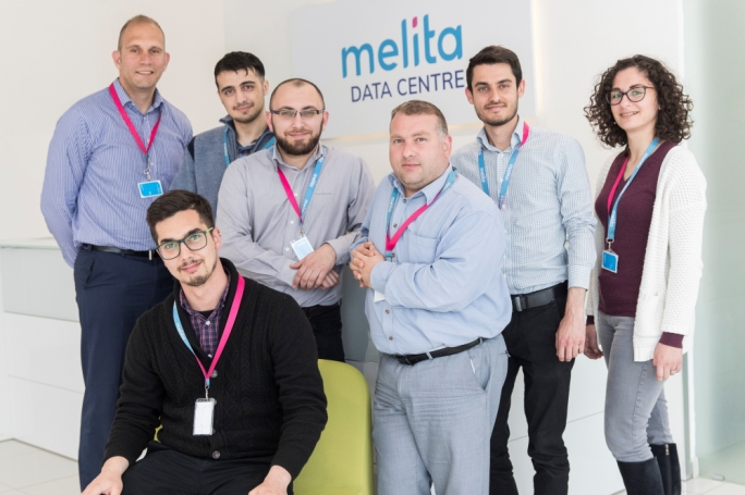 Melita employees who are part of the team which has made 1Gbps nationwide internet a reality