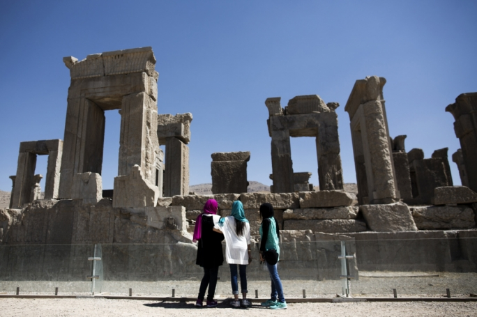 The ancient city of Persepolis in southern Iran