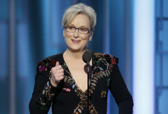 Meryl Streep gave a searing critique of Donald Trump's imitation and treatment of the disabled New York Times journalist Serge Kovaleski