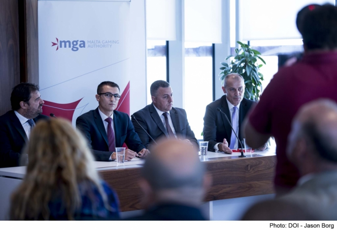 The MGA and parliamentary secretary Silvio Schembri launch the White Paper