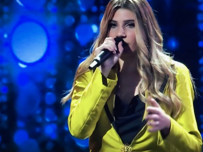 X factor winner Michela Pace