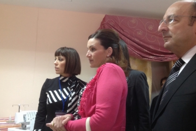 Mary Grace Pisani (left) with Michelle Muscat: Pisani runs the Love Faith Forgiveness project on behalf of the Marigold Foundation. She has yet to process payments paid from clients of the LFF project but some inmates have demanded that they be paid for the work they did.