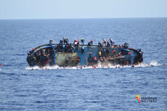 Italian Navy vessel rescues 550 as deaths at sea top 1370
