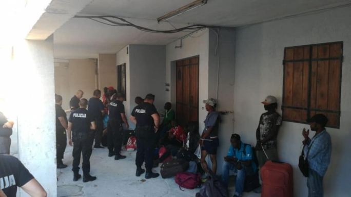 An operation ordered by the Planning Authority found many migrants living illegally in stables in Marsa